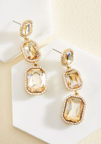 Cara Accessories It's About Shine! Earrings in Champagne