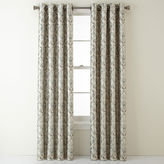 Royal Velvet Blaine Grommet-Top Blackout Curtain Panel