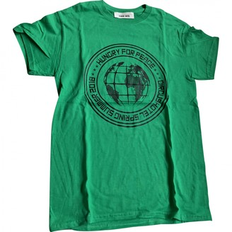 Circus Hotel Green Cotton Top for Women