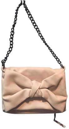 Alexis Mabille Beige Wool Handbags