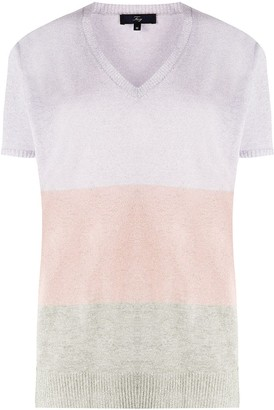 Fay Short Sleeved Knitted Top