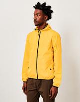 The Idle Man Hooded Packaway Windbreaker Yellow
