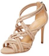 Schutz Glassy Strappy Leather Sandal