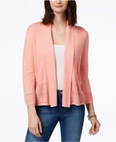 Karen Scott Shawl-Collar Cardigan, Created for Macy's