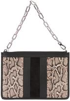 Alexander Wang Attica chain pouch - women - Calf Leather - One Size