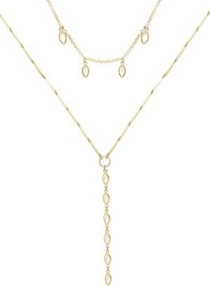 Ettika Set of 2 Cubic Zirconia Necklaces