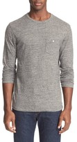 Todd Snyder Men's Long Sleeve Cotton Jersey T-Shirt