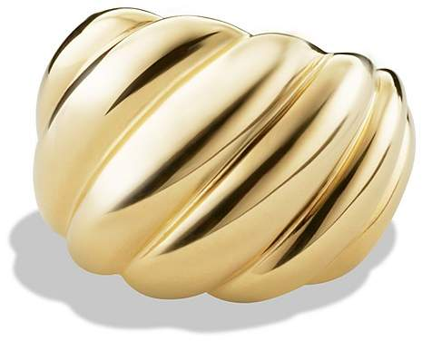 David Yurman Hampton Cable Ring in Gold