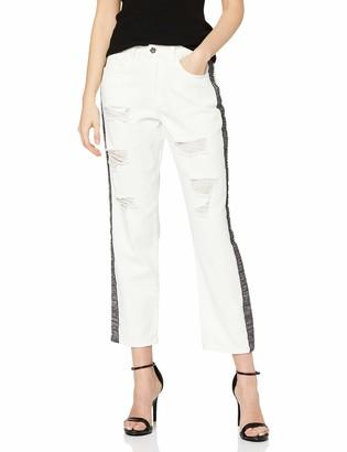 Silvian Heach Women's Breede Boyfriend Jeans