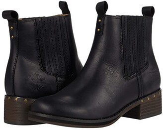 Harley-Davidson Brittany Pull-On (Black) Women's Boots