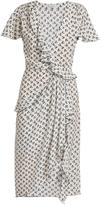 Altuzarra Mesilla ruffled cherry-print silk dress