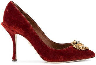Dolce & Gabbana Devotion 100mm pumps