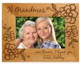 """If Grandmas Were Flowers I'd Pick You"" 4-Inch x 6-Inch Picture Frame"