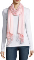 Liz Claiborne Watercolor Solid Pashmina