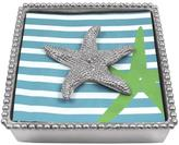 Mariposa Starfish Beaded Napkinbox