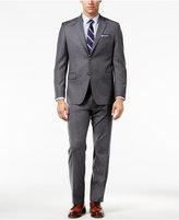 Lauren Ralph Lauren Light Gray Flannel Solid Slim-Fit Suit