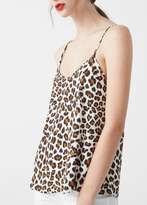 Mango Outlet Flowy printed top