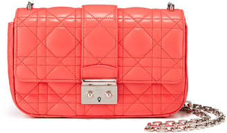Christian Dior Quilted Leather Shoulder Bag