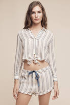 Solid & Striped Taylor Cropped Buttondown