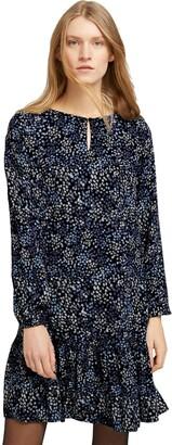 Tom Tailor Women's 1022145 Volant Dress