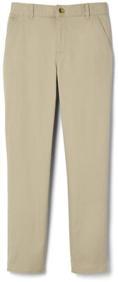 French Toast Boys' Little Adjustable Waist Stretch Straight Fit Chino Pant (Standard & Husky)