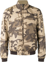 Woolrich High collar bomber jacket - men - Polyamide/Polyester - M