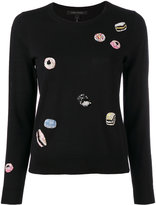 Marc Jacobs Candy embroidered sweater - women - Wool - S