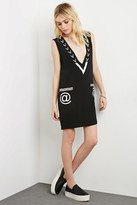 Forever 21 FOREVER 21+ This Is a Love Song Cyber Dress