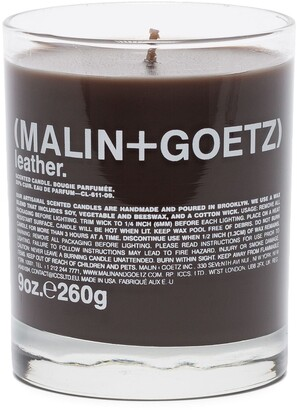Malin+Goetz leather-scented candle 260g