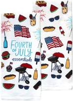 Celebrate Americana Together 4th of July Essentials Kitchen Towel 2-pack