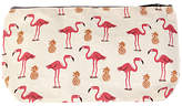 Fenella Smith Flamingo and Pineapple Make-up Bag