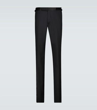 Tom Ford Wool tuxedo pants