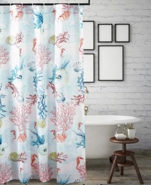 Greenland Home Fashions Sarasota Bath Shower Curtain Bedding