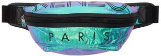 Kenzo Blue Limited Edition Holiday Logo Bum Bag