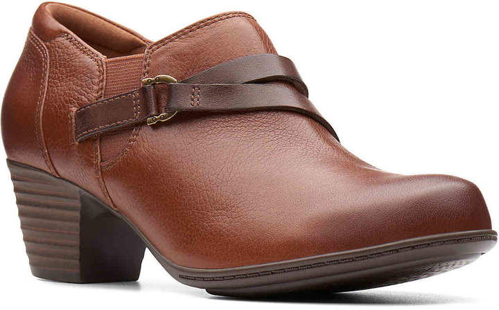 df61632f31002 Clarks Brown Leather Boots - ShopStyle