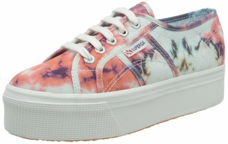 Superga Women's 2790-TIEDYE COTW Oxford Flat