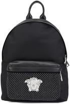 Versace Palazzo studded backpack - women - Nylon - One Size