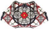 Alexander McQueen 'De Manta' stained glass printed clutch