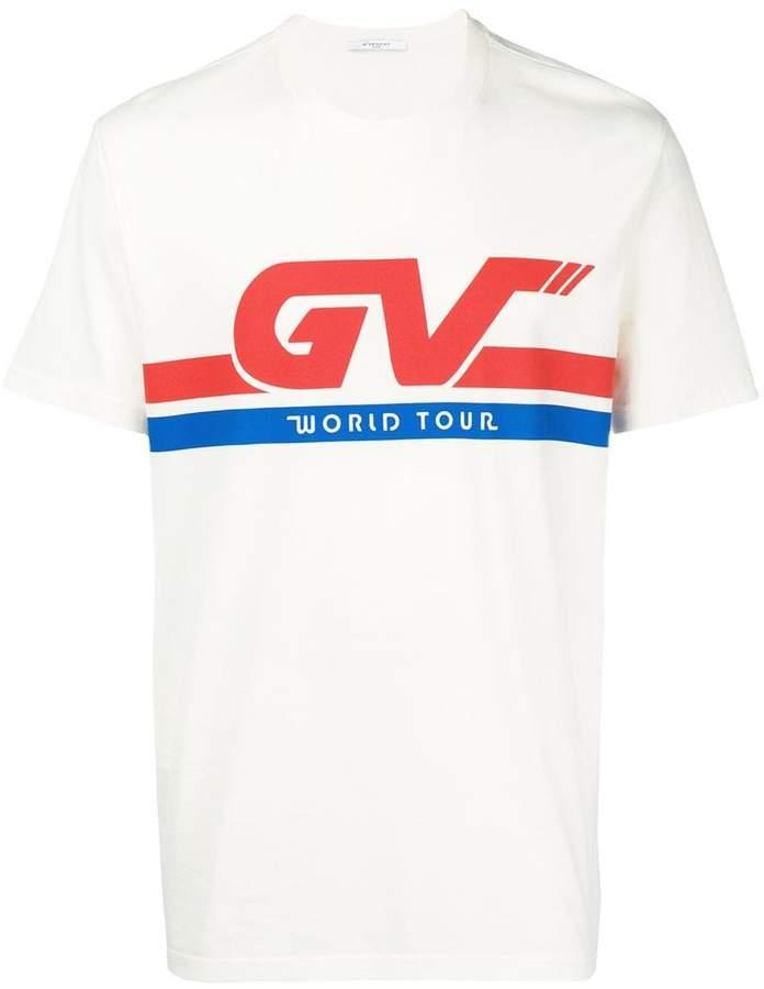 Givenchy graphic slogan print T-shirt