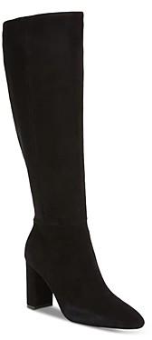 Charles David Women's Brilliant Suede High Heel Boots