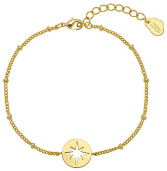 Estella Bartlett Starburst CZ Beaded Chain