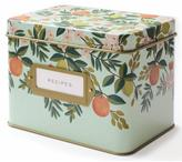Rifle Paper Co. Floral Recipe Box