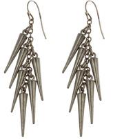 Ben Amun Short Spike Earrings