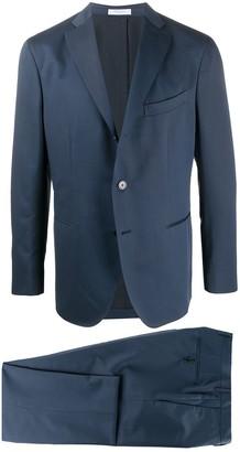 Boglioli Single Breasted Slim-Fit Suit