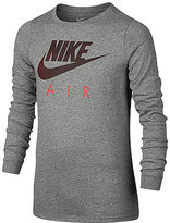 Nike Boys' Long-Sleeve Graphic-Print T-Shirt