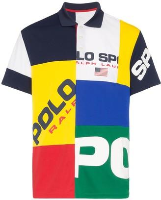 Polo Ralph Lauren Colour Block Logo Rugby Polo