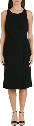 Givenchy Wool Crepe Sleeveless Dress