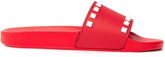 Valentino Rockstud Pvc Slides