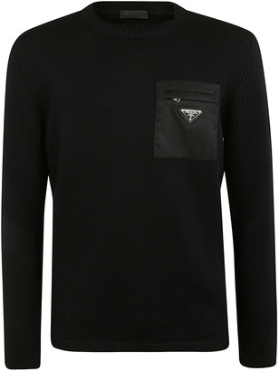 Prada Patched Pocket Pullover