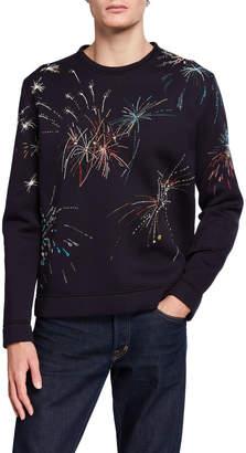 Valentino Men's Beaded Sweatshirt